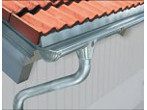 Stainless steel rainwater drainage system